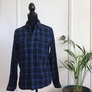 Uniqlo long-sleeve button-down